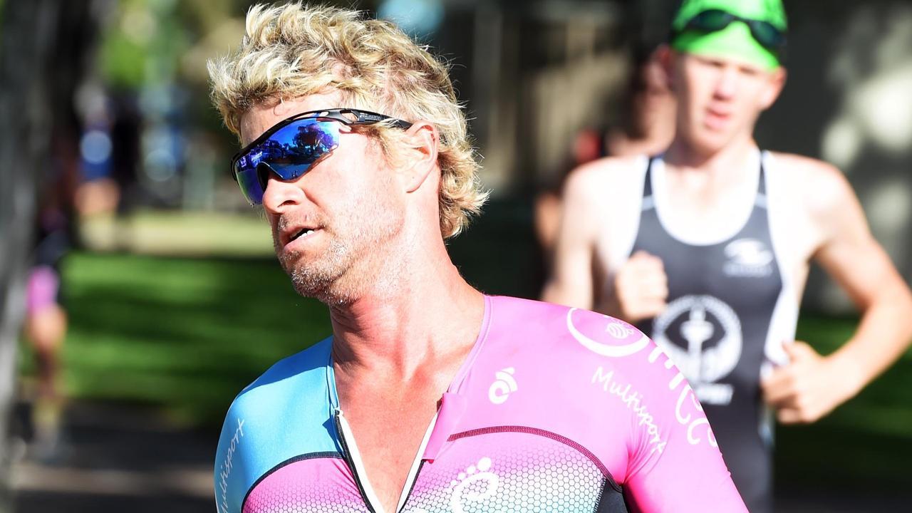 Hervey Bay Triathlon Club, aquathlon – First in the open category, Lars Olsen.