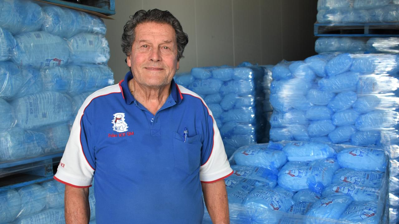 Jack Berry is the man behind Polar Ice Company which has been operating in Ipswich for almost 50 Years.
