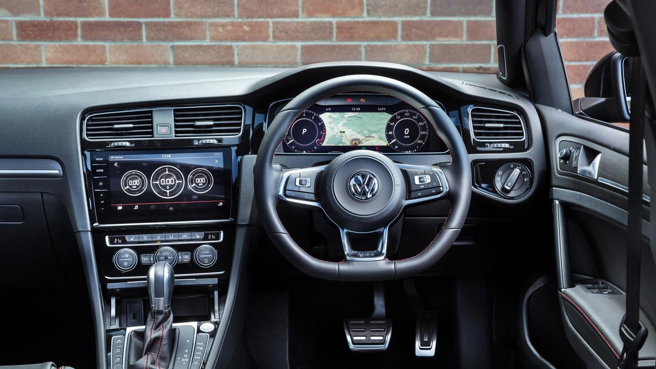 The interior layout is sharp and the digital dash is a highlight. Pictures by Thomas Wielecki.