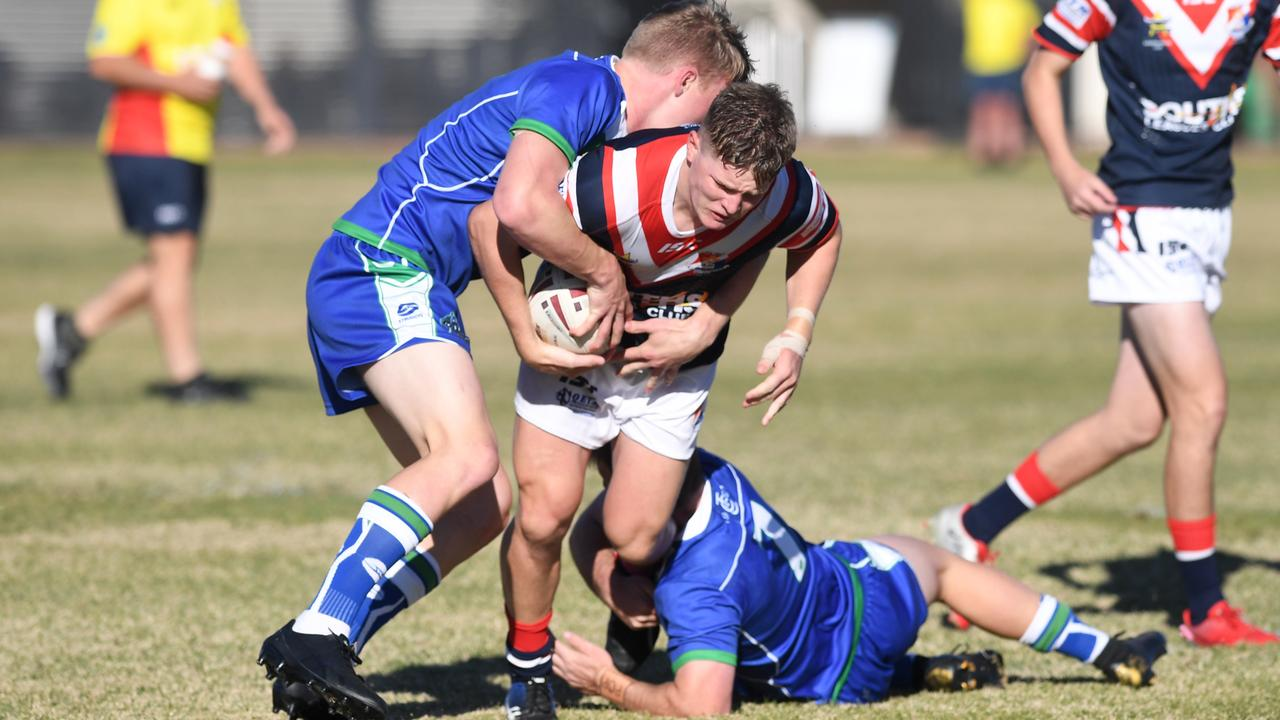 RUGBY LEAGUE AARON PAYNE CUP: The Cathedral College (Rockhampton) vs St Patrick's (Mackay)