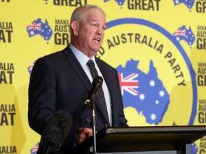 Palmer spruiks footy star ahead of election race