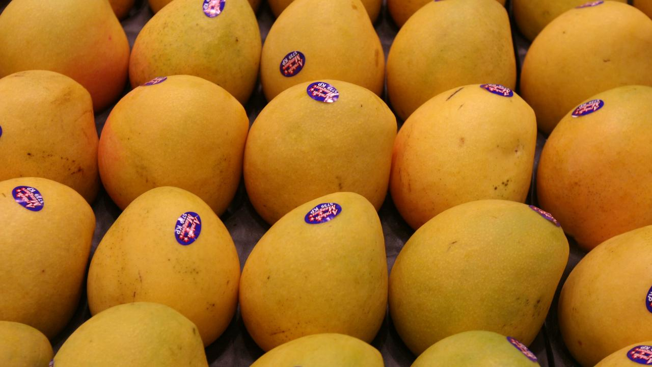About $20,000 worth of Kensington Pride mangoes have been stolen by thieves from an orchard in Darwin's rural area. Picture: News Limited