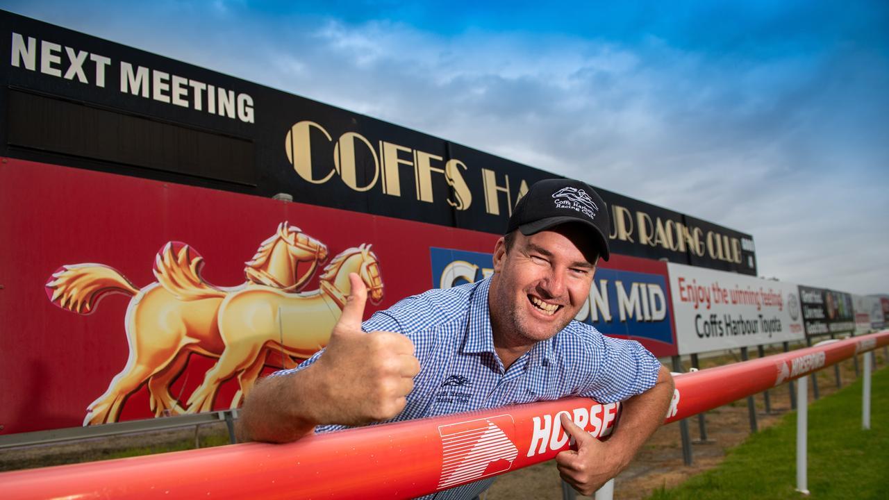 Tim Saladine Coffs Harbour Racing Club chief executive. Photo: Trevor Veale.