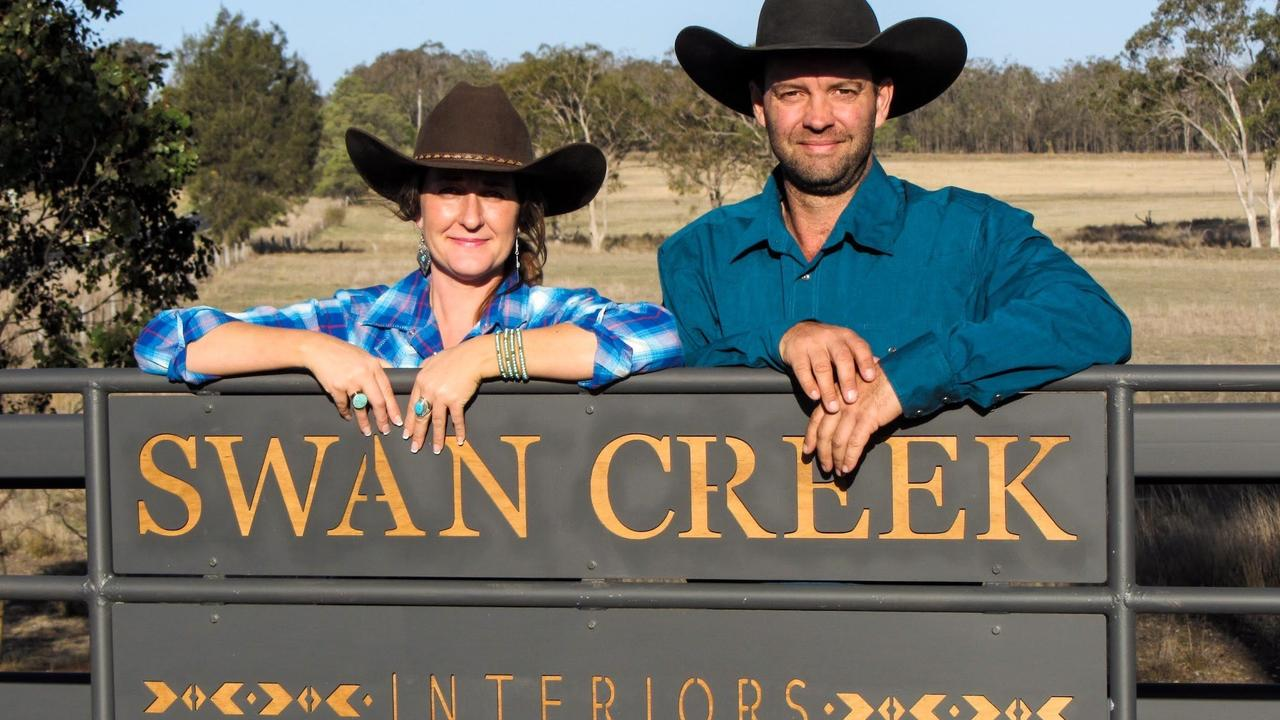ONLINE ONLY: Rox and Buck Liddle from Swan Creek Interiors haven't looked back since moving online. Picture: Swan Creek Interiors