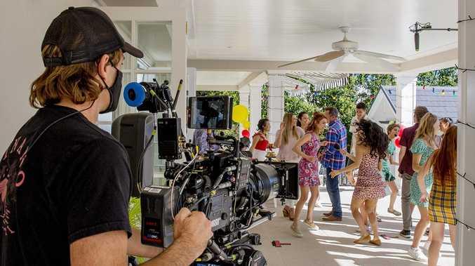 Inside Coast mansion's 'magical' film set