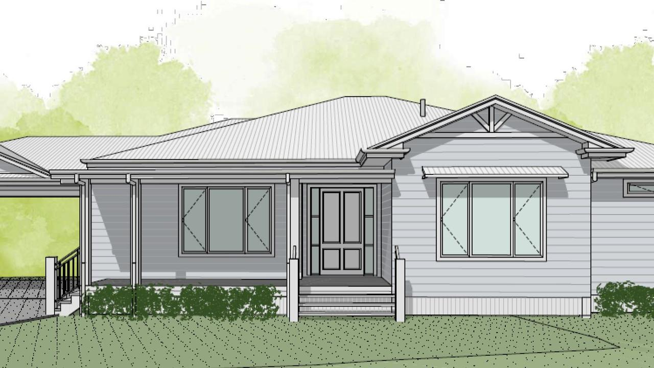 NEW DESIGN: One of the designs that J Co Constructions has created for the rebuild. Photo Contributed