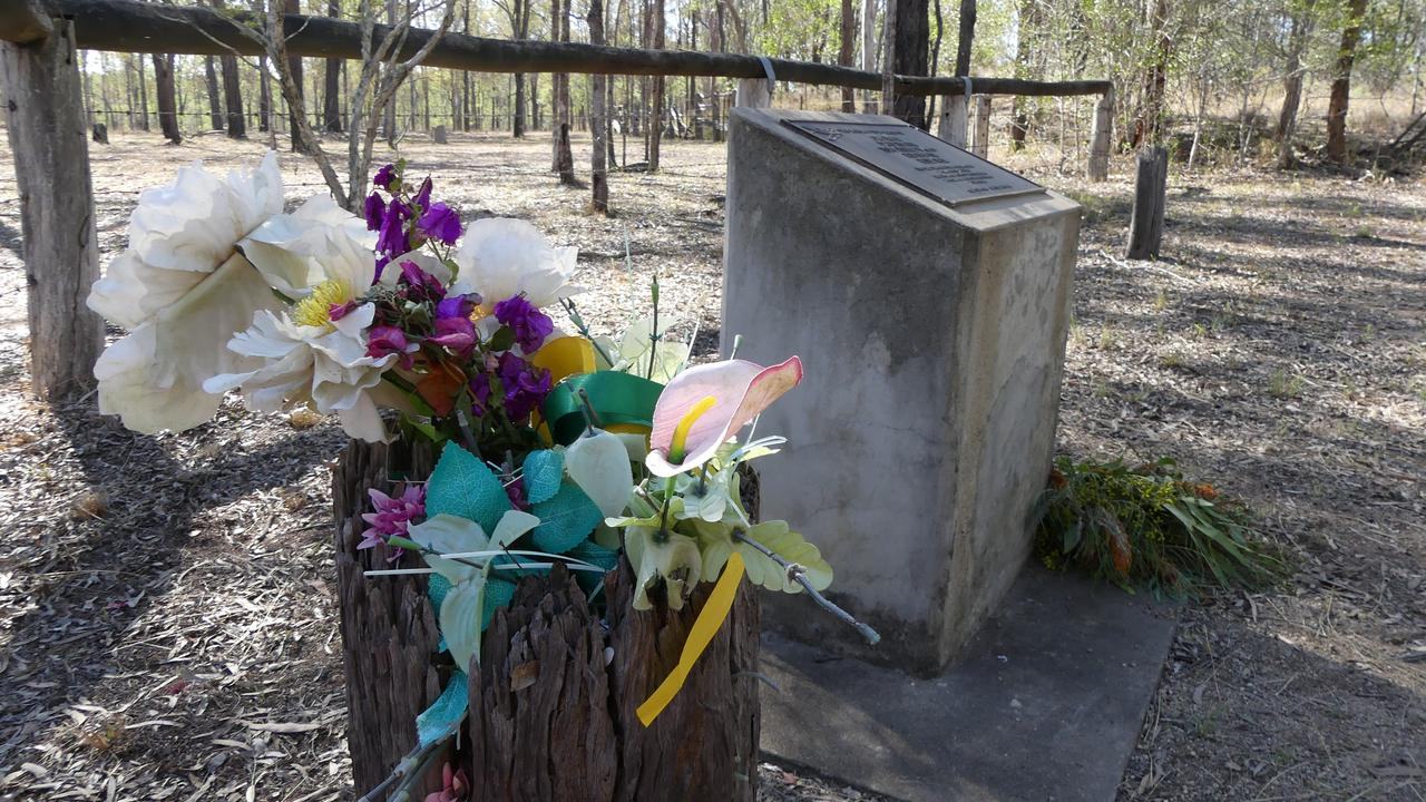 Wondai residents marked 30 years with a small ceremony at the memorial site. Photo: Holly Cormack.