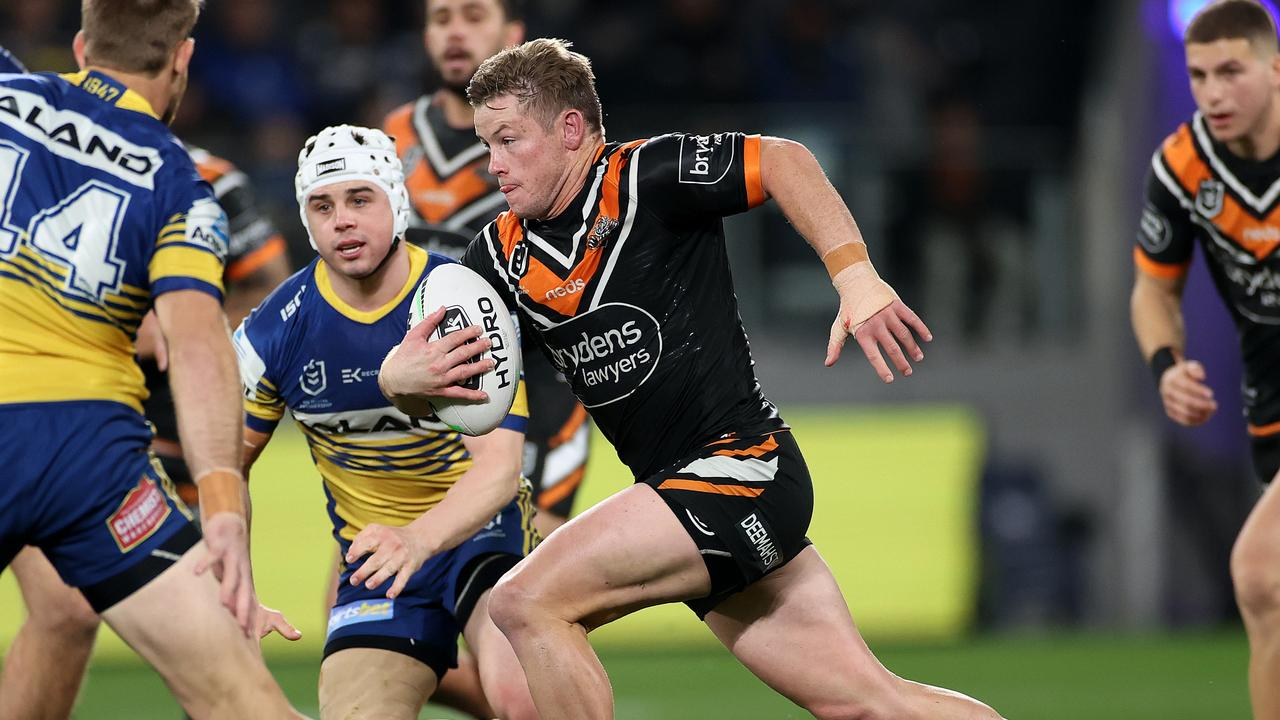 Harry Grant has impressed at the Wests Tigers.