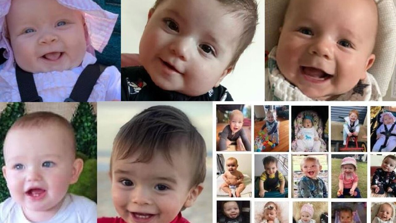 Gympie has chosen its cutest baby from a touch field of 40 finalists.