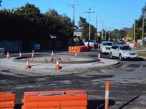High tides put new roundabout under the pump
