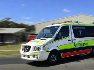 'Car v pedestrian': Man taken to Bowen Hospital after crash