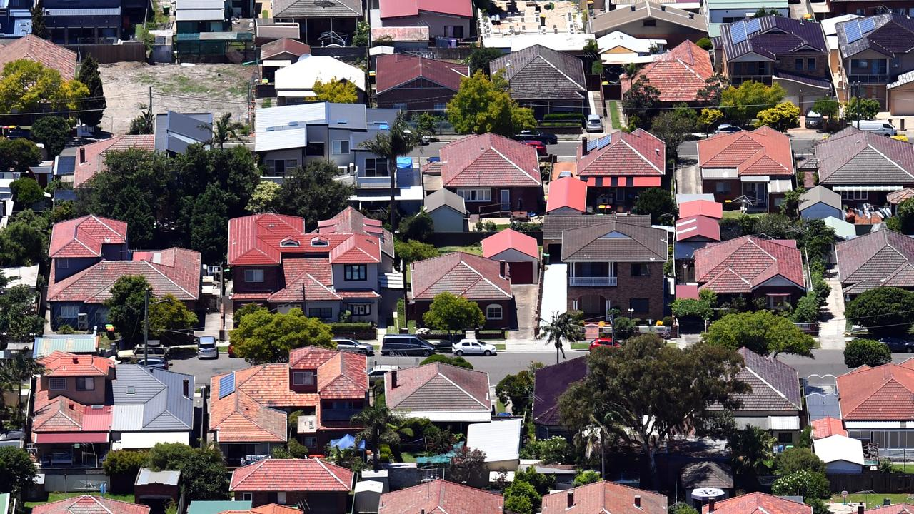 House prices have jumped more than 400 per cent in many Queensland suburbs in the past 20 years. Image: AAP/Sam Mooy.