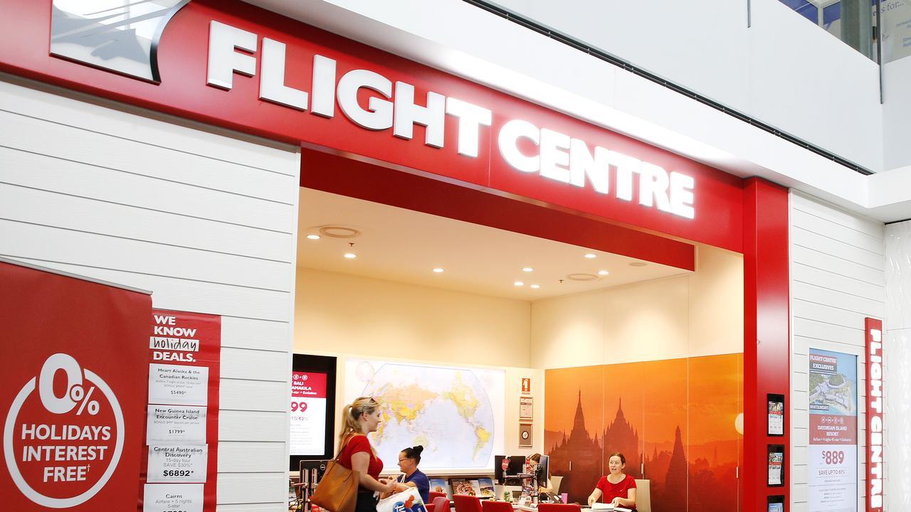 Flight Centre Closes 100 stores