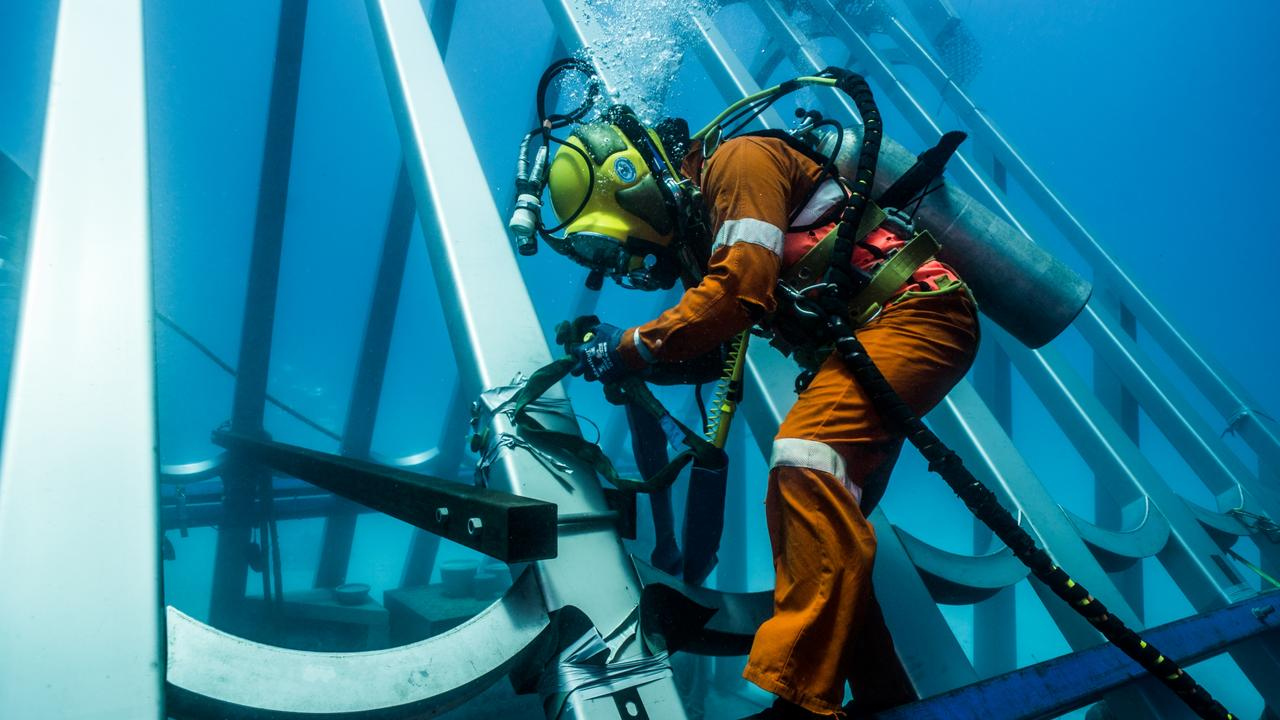 The Museum of Underwater Art in Townsville is the first of its kind in the southern hemisphere.