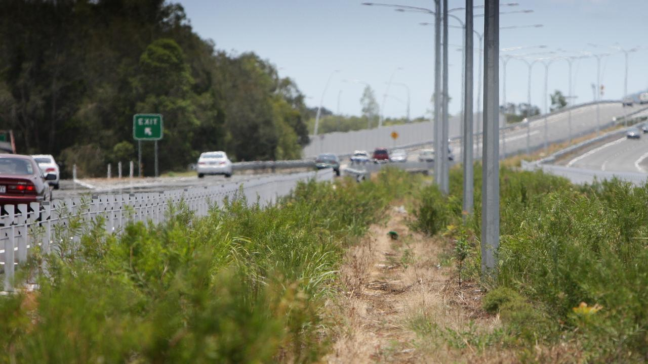 Police were called to an on ramp near the Sunshine Motorway at Maroochydore Rd.