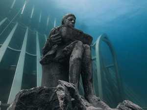 BREATHTAKING: Underwater museum is truly something else