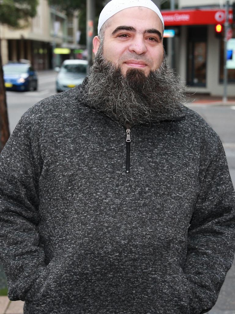 Hamdi Alqudsi, a security instructor who would later be jailed in 2016 for helping recruit and export Australians to join ISIS.
