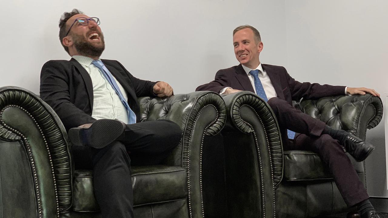 Principal lawyers Ben Rynderman and Chris Lumme.