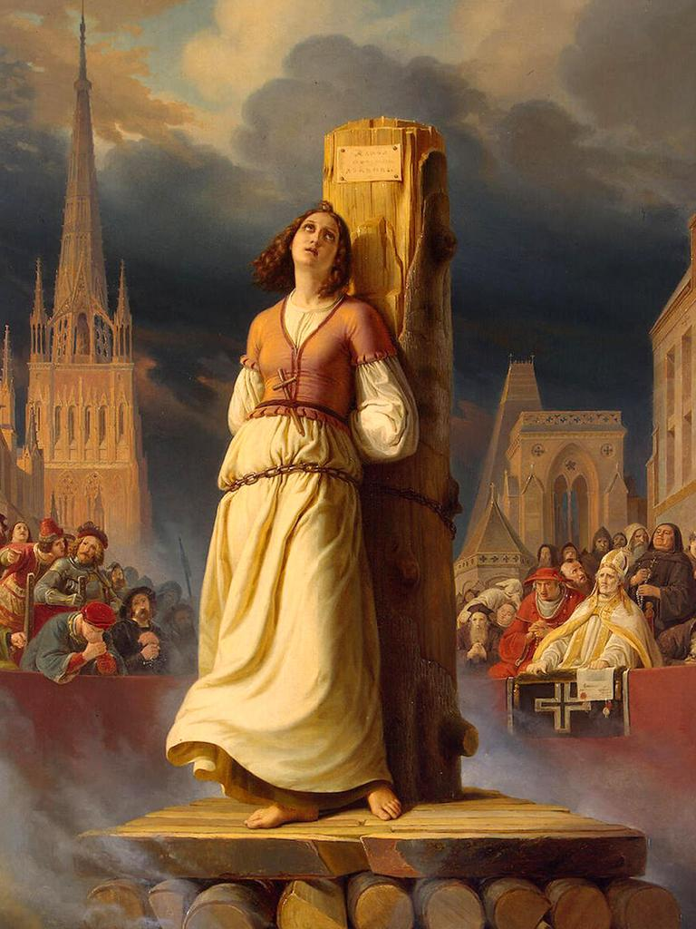 Joan of Arc was 19 when she was burned at the stake.