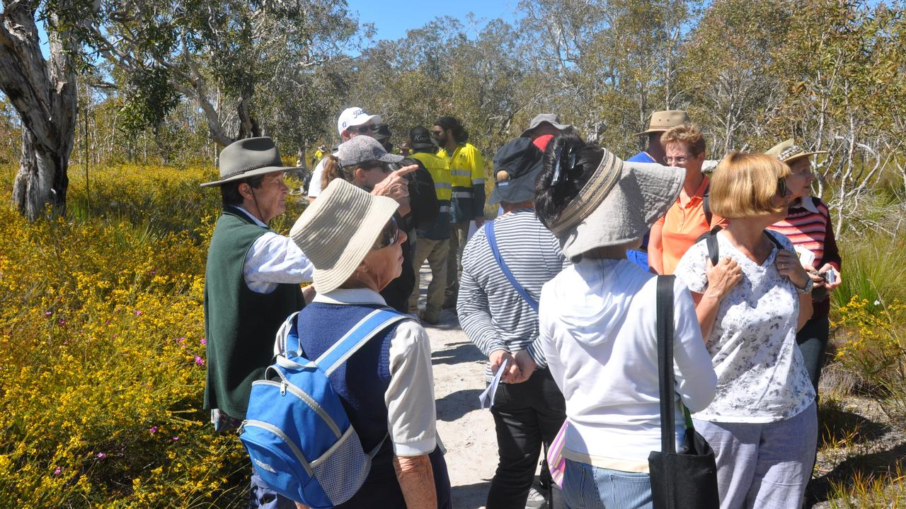 Noosa guided walks are a highlight of the upcoming Sunshine Coast Wildflower Festival.