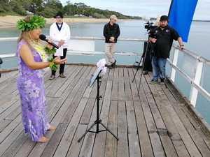 Aloha Mai E whale blessing