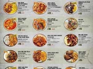Korean food on the menu