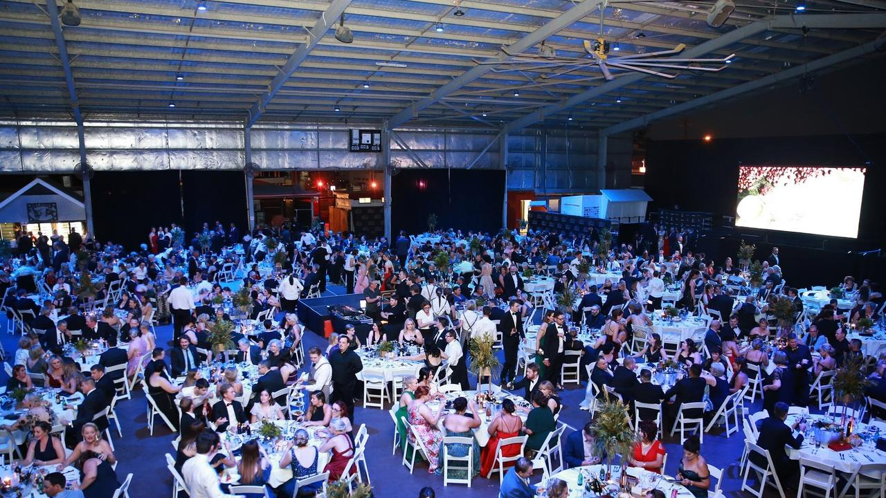 More than 800 people attended the Black Dog Ball last year at the venue.