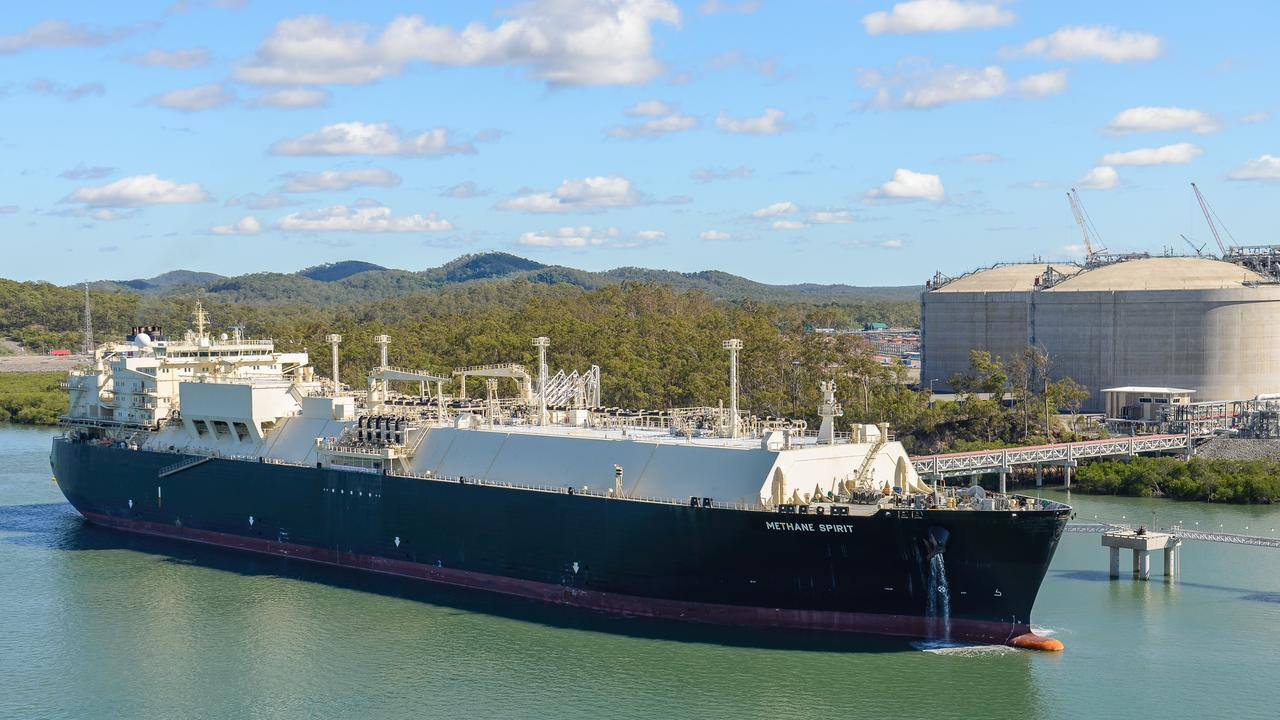 Origin Energy Limited (Origin) confirmed the first shipment of liquefied natural gas (LNG) departed the Australia Pacific LNG facility on Curtis Island in Queensland. Pictured: The Methane Spirit departed Curtis Island near Gladstone on Saturday 9 January.
