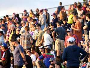 Alarming images of 'packed' NRL crowd