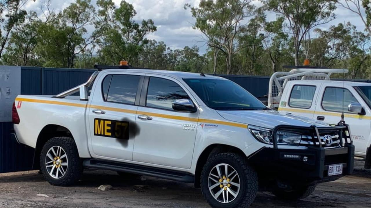 The Toyota Hilux was reported stolen from South Mackay at Pratt St overnight.