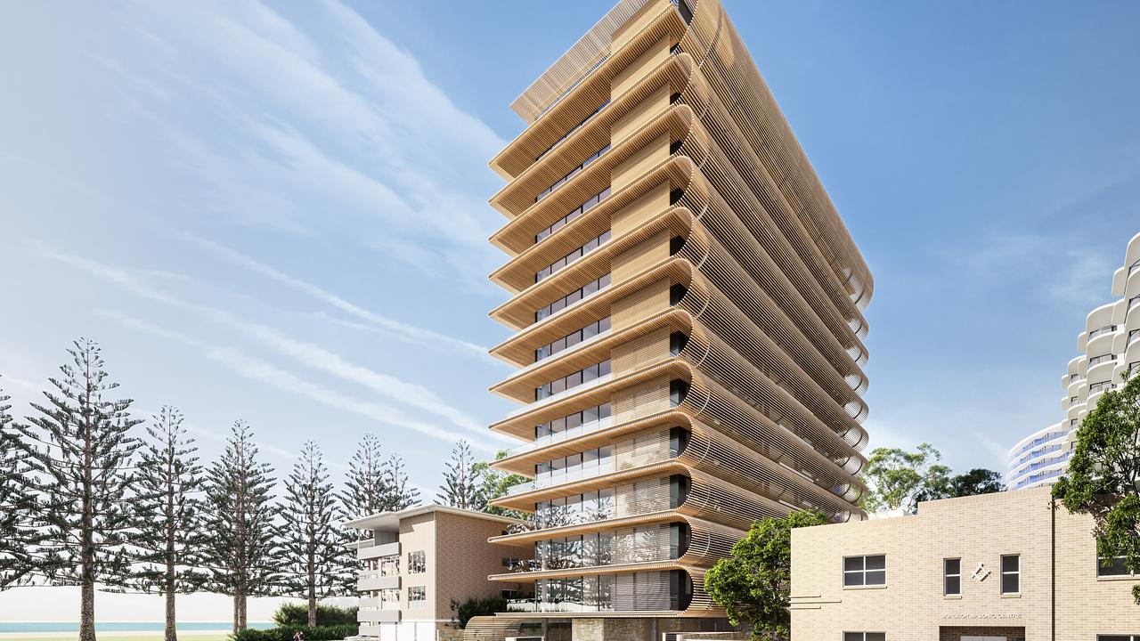 Velocity Property's planned Burleigh Tower