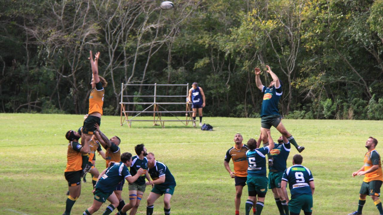 TOP GAME: Lismore reserves played an exciting game against Mullumbimby on Saturday but could not overcome the visitors to claim a win. Photo: Alison Paterson