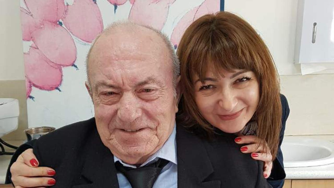 Boro Petkovic with his daughter Jayne.