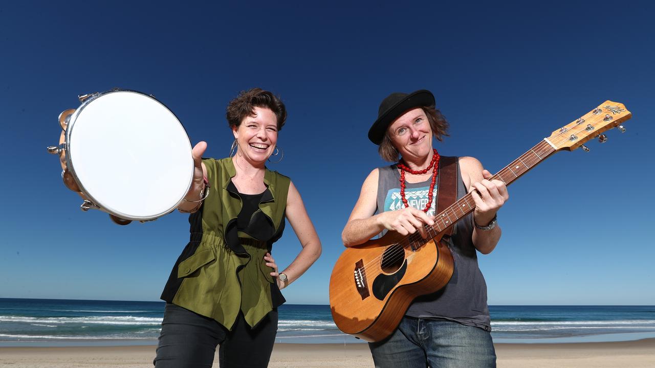 Leesa Gentz and Julz Parker are The Hussy Hicks. Photograph : Jason O'Brien