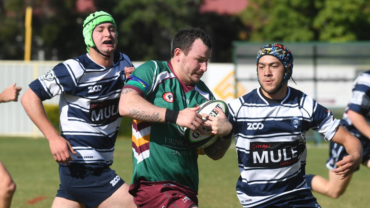 RUGBY UNION: Frenchville Pioneers versus Brothers 2.