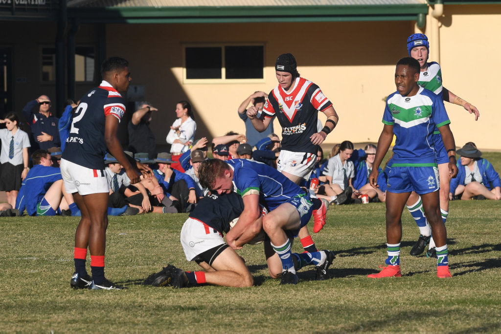 Image for sale: RUGBY LEAGUE AARON PAYNE CUP: The Cathedral College (Rockhampton) vs St Patrick's (Mackay)