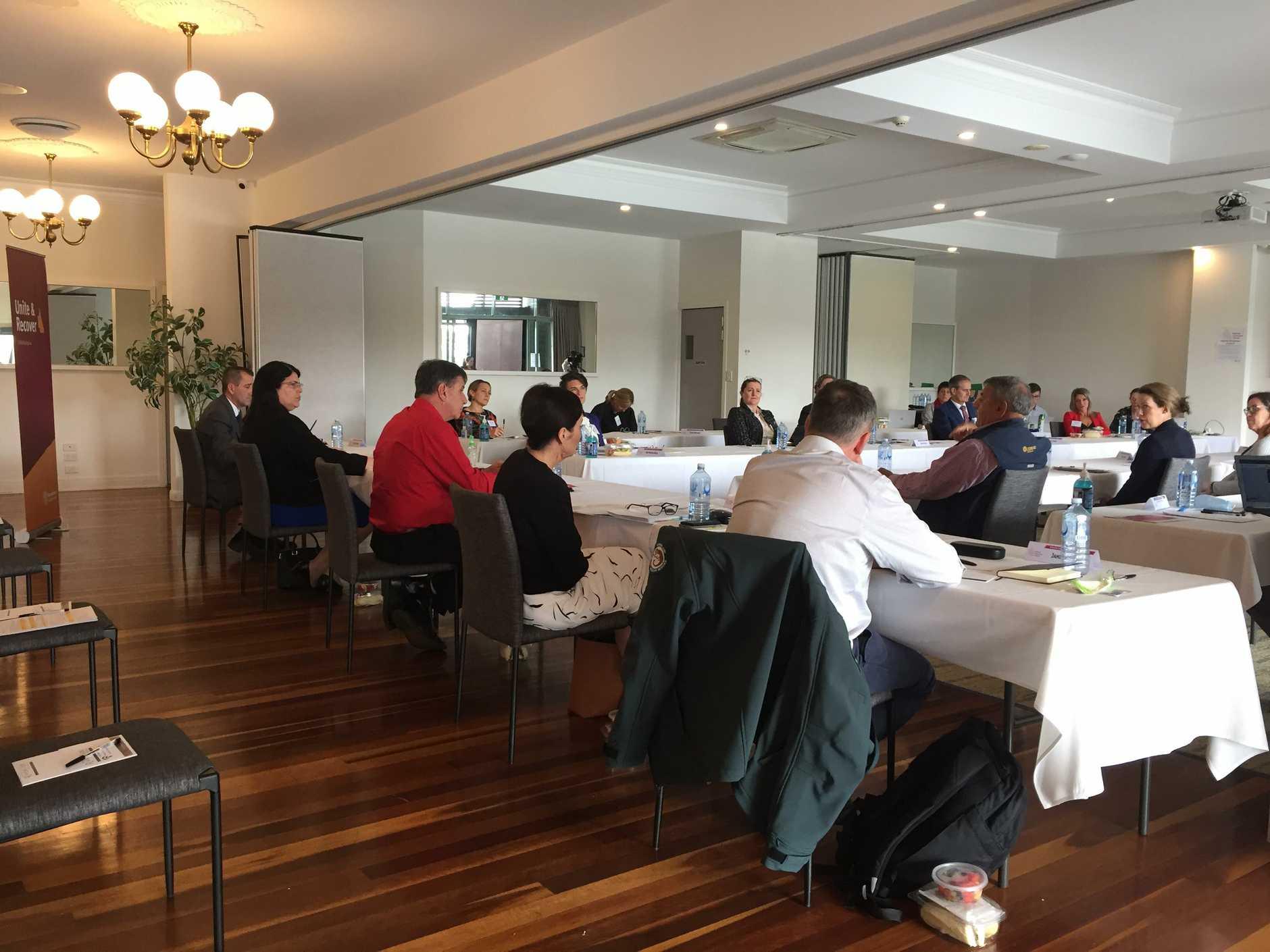 The forum held in Bundaberg today.