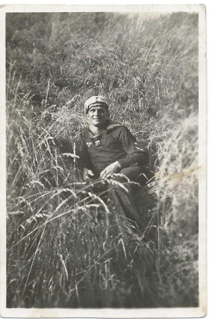 Ernst in his uniform.