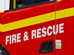 Firies respond to early morning structure fire
