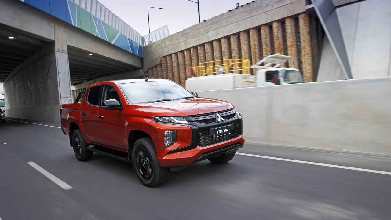 The 2020 model Mitsubishi Triton GSR starts from $50,990.