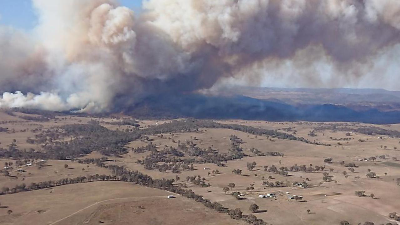 FILE PHOTO: NSW RFS said the bush fire season has started early this year in some regions, including Tenterfield, where homes were lost last year to bush fire. Picture: David Swift.