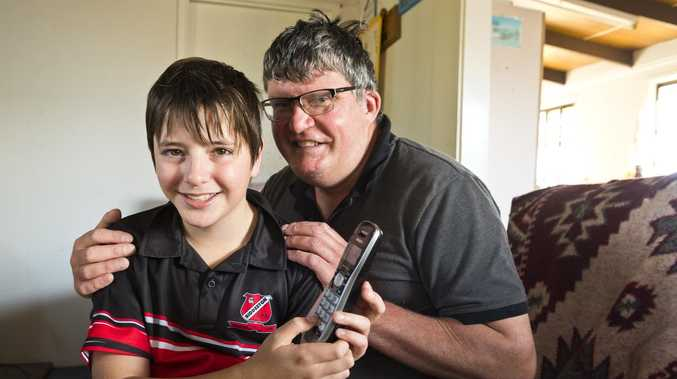How hero son saved his father's life