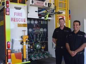Crash, fire, false alarm are all in a day's work
