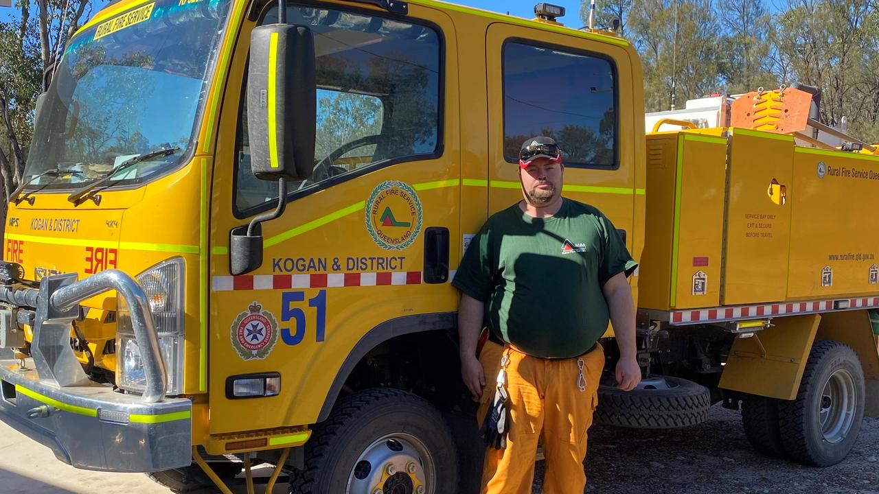 VOLUNTEER: Stuart Larkin RFS Volunteer. Pic: Supplied