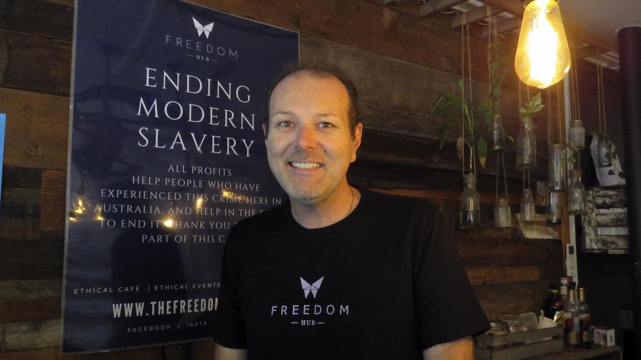 Freedom Hub manager Tyrone Smith. Photo: Gold Coast Bulletin