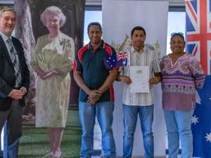 Proud moment as CQ town welcomes 11 new Australian citizens