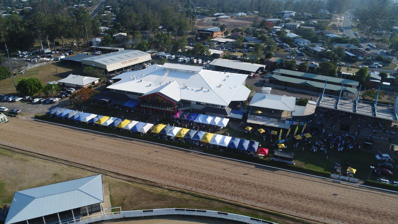 The Gympie Turf Club will hope to break new ground in the post-COVID world.