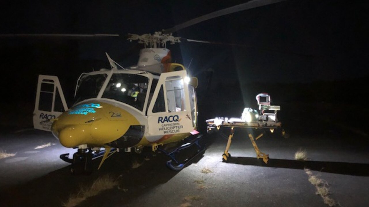 RACQ Capricorn Rescue was tasked to Great Keppel Island on Saturday night for an assault.