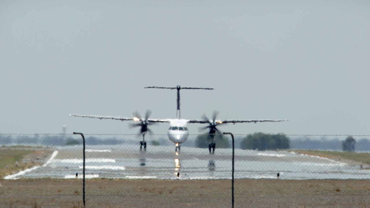 The Queensland Government looks at solutions to high priced regional airfares. Pic Mark Cranitch.