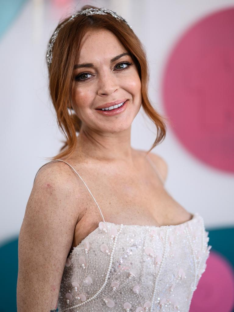 Lindsay Lohan. Picture: James Gourley/Getty Images